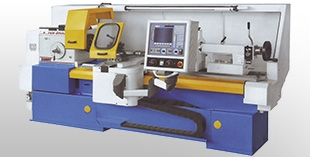 CNC lathes with analog control spindle
