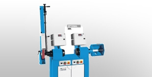 Base-mounted polishing machines